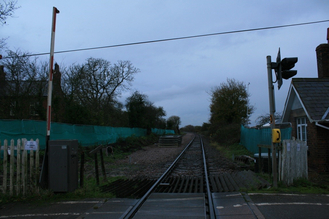 Noise & Vibration Monitoring at Broad oak Crossing (Chester-Wrexham Railway)
