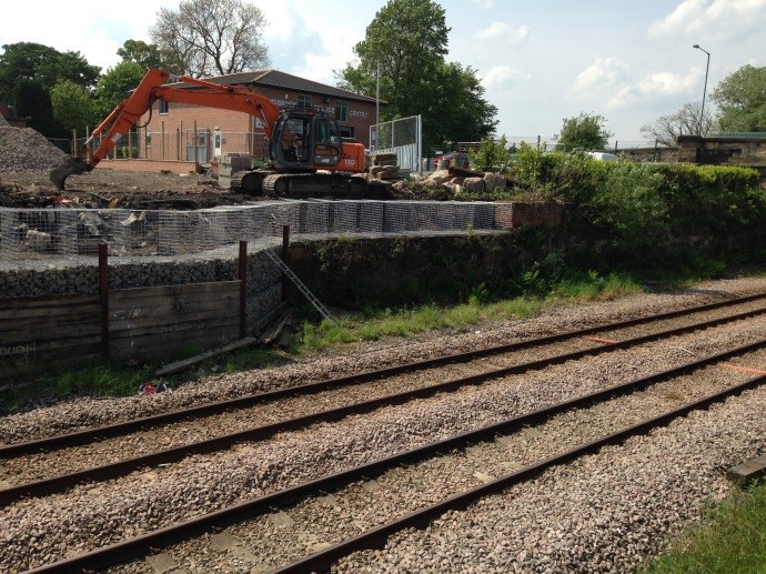 Sandbrook Gardens – Health & Safety Plan, Risk Assessment and Method Statement for approval and sign-off of the reconstruction of a boundary retaining wall immediately adjacent to operational Network Rail land